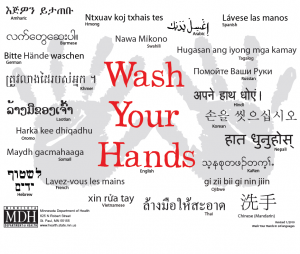 wash your hands in lots of languages