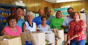 pantry volunteers