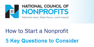 NCNP start a non profit questions