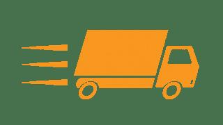 orange Express truck
