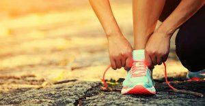 tying-a-running-shoe