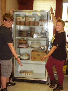 thermo fiisher community table fridge donation