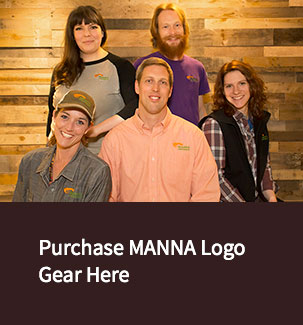Purchase MANNA Logo Gear at Our Land's End Store