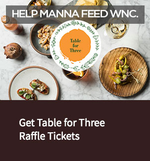 Table for Three Raffle 2018